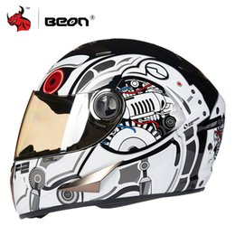 motorcycle helmets yellow color Australia - BEON Motorcycle Helmet Full Face Moto Helmet Motorbike Motocross Casco Moto Casco Capacetes For Men And Women