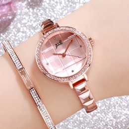 $enCountryForm.capitalKeyWord Australia - GEDI Exquisite Trend Lattice Creative Ladies Bracelet Watch Fashion Light Luxury Wild Temperament Quartz Watch