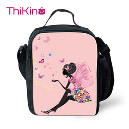 $enCountryForm.capitalKeyWord Australia - Thikin Butterfly Cooler Lunch Box School Portable Insulated Lunch Bag Tote PouchThermal Picnic Bags For Women Kids