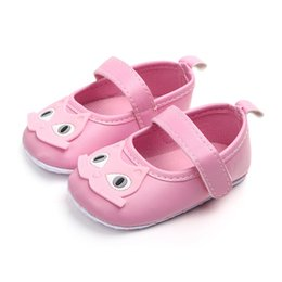 $enCountryForm.capitalKeyWord Australia - Newborn PU Leather Cute Cartoon Handmade Infant Toddler Non-Slip Soft Outdoor Shoes Crib Kid First Walkers