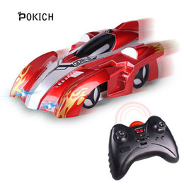 $enCountryForm.capitalKeyWord Australia - RC Wall Climbing Car Remote Control Anti Gravity Ceiling Racing Car Electric Toys Machine Auto Gift for Children