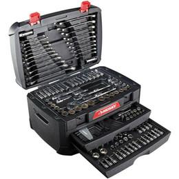 Ingrosso Set utensili meccanici Husky 268 pezzi w Case Kit di riparazione chiavi dinamometriche SAE