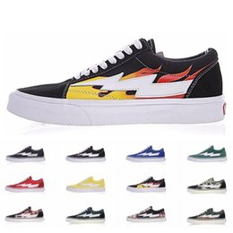 a97f35e9fe Revenge X Storm Vans Old Skool Pop-up Store 2019 Athentic Canvas Mens  Designer Sports Running Shoes for Men Sneakers Women Casual Trainers