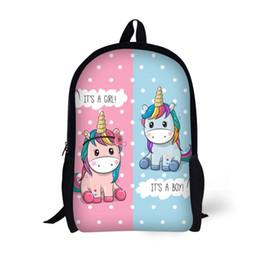 $enCountryForm.capitalKeyWord Australia - Teenage Unicorn Backpack 17 inch Leisure Travel Bagpack Cartoon Students Boy Girls Children School Bags Rucksack Mochilas
