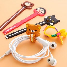 Store cableS online shopping - Small serrated shape winder storage cable organizer cute cartoon creative hub casual department store