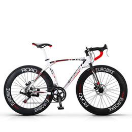 Road Bicycle Disc Brakes Australia - Aluminum alloy 14 speed disc brake road bike 700C cross-country road bicycle XC750