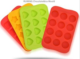 frozen chocolate moulds Australia - Heart Shape Silicone Chocolate Mold Maker Ice Cube Tray Freeze Mould Bar Pudding Jelly