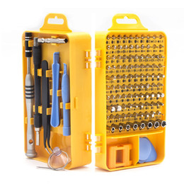 high precision tools NZ - 108 in 1 Screwdriver Set Chrome Vanadium Steel High Precision Magnetic Screwdriver Sets Electronic Device Home Repair Tools