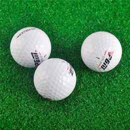 Wholesale 2019 Promotion Limited 80-90 Balle De Golf Match Game Golf Lol Floorball Sport Practice Three-layer Ball