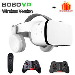 GooGle cardboard lenses online shopping - Bobo VR Bobovr Z6 Helmet D Glasses Virtual Reality Headset For Smartphone Smart Phone Google Cardboard Goggles Lens Lunette D