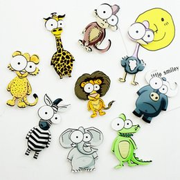 $enCountryForm.capitalKeyWord Australia - 1 Pcs Cartoon Animal Fridge Magnet Souvenir For Kids Cute Car Vegetable Emoji Stickers On The Fridge Refrigerator Magnets