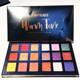 $enCountryForm.capitalKeyWord UK - Beauty Glazed 18 Shades Gemstone and Coral Makeup Eyeshadow Palette Glitter Shimmer Matte Warm Color Eyeshadow Pallete