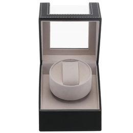Plugs shoP online shopping - Automatic Mechanical US Plug Display Box Jewelry Watch Winder Luxury Motor Shaker Organizer Holder Case Shopping Mall Wristwatch