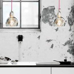 kitchen classics NZ - Creative Nordic design new classic was blown Clear luster glass Bulb Leuchte pendant lamp for bedroom living room kitchen bar