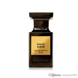 Chinese  Perfume for woman White Suede Floral Woody Musk Highest quality Water spray Black square body bottle 100ml EDP Free shipping Fast delivery manufacturers