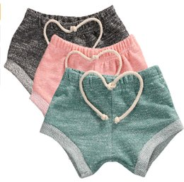 Wholesale Fashion kids shorts cotton green bloomers summer hot sale baby girl candy color cotton short pants