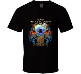 Chinese  New Mastodon Crack The Skye Cover Art Black White Men'S Shirt Usa Size S-3XL Af1 manufacturers