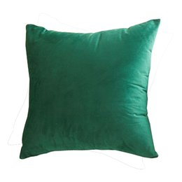 "$enCountryForm.capitalKeyWord UK - 18"" x 18 ""Velvet Cushion Cover Square Sofa Decorative Pillow Cases Indoor and Outdoor Throw Pillow Covers BH18099"