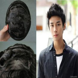 $enCountryForm.capitalKeyWord Australia - Fast delivery high quality men's black wigs, tailored for men, high quality hair, novel style, wear comfort.TKWIG