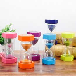 $enCountryForm.capitalKeyWord Australia - 5 10 15 20 30min Sandglass Hourglass Sand Clock Egg Kitchen Timer Supplies Kid Game Gift LBShipping