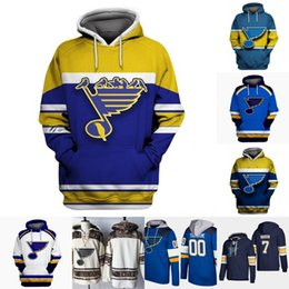 Wholesale mens blue hoodies resale online - St Louis Blues Hoodie Jersey Mens Vladimir Tarasenko Joel Edmundson Tyler Bozak Jake Allen Ryan O Reilly Hockey Jerseys
