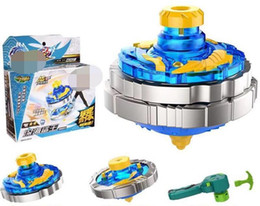 $enCountryForm.capitalKeyWord NZ - New Battle Beyblades Metal Hypervariable Warfare Magic Gyroscope Children Revolving Body Changeable Gyro Launcher Combat Suit Toys for Kids