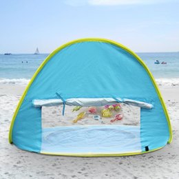$enCountryForm.capitalKeyWord Australia - Pop Up Awning Tent Kid Camping Sunshade With A Storage Bag Baby Beach Tent UV-Protecting Sun Shelter With A Pool Waterproof