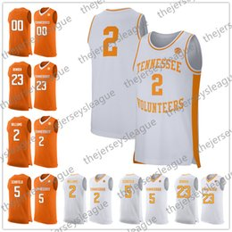 51b5fca8348f College basketball jerseys names online shopping - Tennessee Volunteers Custom  Any Name Any Number Orange White