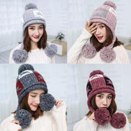 Beanies Braids Australia - Fashion Warm Winter Women Beret Braided Baggy Knit Crochet Beanie Hat Ski Hats Knitted Ladies Winter Hats