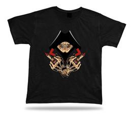 $enCountryForm.capitalKeyWord UK - Skeleton Skull Hood Hand Sign Evil Eye Ring stylish design tshirt best gift Men Women Unisex Fashion tshirt Free Shipping black