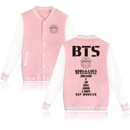$enCountryForm.capitalKeyWord Australia - BTS winter jacket men harajuku Kpop 2019 new baseball jacket with streetwear jackets men and clothing roupas