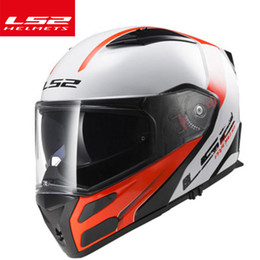 $enCountryForm.capitalKeyWord Australia - 100% Original LS2 filp up motorbike helmets FF324 modular racing moto helmet full face motorcycle with sunny visor helmet