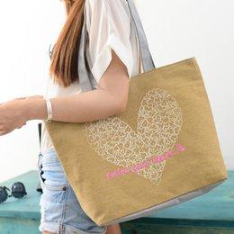 $enCountryForm.capitalKeyWord Australia - Wholesale-Fashion Cute Printing Women Canvas Bags Shoulder Bag Casual Handbag