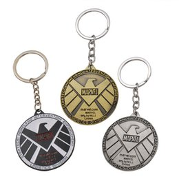 $enCountryForm.capitalKeyWord Australia - 17 styles Avengers Captain America Keychain Superhero Star Shield Pendant Keyring Car Key Chain Accessories Batman Marvel Key Chain jssl001