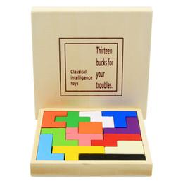 $enCountryForm.capitalKeyWord Australia - Building block plywood Square plate Children puzzle toy Brain-burning game Intelligence Educational Toys Creative Gift For Kids Children