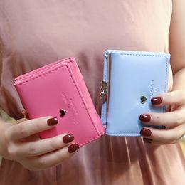 $enCountryForm.capitalKeyWord Australia - 2019 ladies Money bags Love Small womens wallets and purses Vintage PU Leather 3 Fold Women hand wallet Female Short Card Holder
