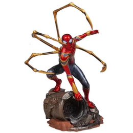 $enCountryForm.capitalKeyWord UK - Hot toys Marvel Avengers Super Hero Spiderman Action Figures PVC Spider Man Figure Collectible Model Toys 25cm