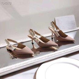 Опт Женские туфли на шпильках High End, туфли на высоком каблуке из обтягивающей технической ткани с размером ленты 34-41