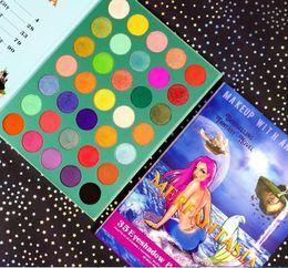 Full novels online shopping - Factory Direct DHL Rude Makeup With an A Ttitude E Bestselling Fantasy Novel Merfantasia Color Eyeshadow Palette