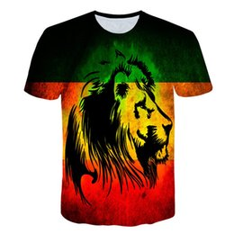 81f0f334 2019 New Youth 3d T-shirt Men women Fashion Brand T-shirt 3d Print Lion T  Shirt Summer Tops Tees Shirts