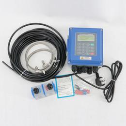 Portátil montado en la pared del caudalímetro ultrasónico TUF-2000B TM-1 con TM-1 Sensores en venta