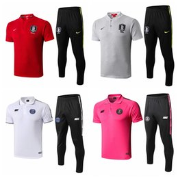 $enCountryForm.capitalKeyWord Australia - Euro sizes, Best Thai Quality men Polo South Koreas Son soccer Maillot de Foot football training polo pants kits 2019 2020