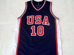 3d7bbea36 CUSTOM Kevin Garnett  10 1992 Dream Team New Basketball Jersey Navy Blue Stitched  Custom any number name MEN WOMEN YOUTH BASKETBALL JERSEYS