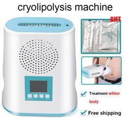 2020 portable MINI Cryolipolysis Fat Freezing Slimming Machine Vacuum fat reduction cryotherapy cryo fat freeze machine home use on Sale