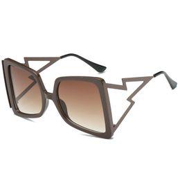 84216ec43dc6 oversized sunglasses womens sunglasses 2019 New Gradient Shades personality  Eyewear cool fashion sun glasses 5 color