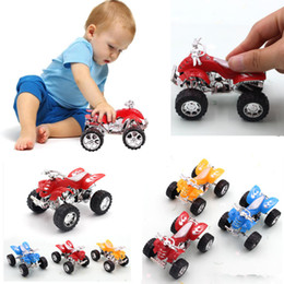kids mini bicycle NZ - Mini Beach Motorcycle Model Toy Boy Simulation Car Motor Model Toy Kids Children Beach motorcycle model children toys Random Color free TNT