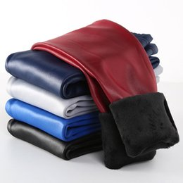 $enCountryForm.capitalKeyWord Australia - Winter Girls Leggings Warm Leggins Girl Faux Leather PU Pants Kids Children Getry Pantalones Fille Hiver Leguin Infantil Trouser