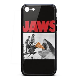 Wholesale Pizza Shark Jaws Poster iphone best protective case cheap phone cases protective apple case fashion classic anti scratch phone cases