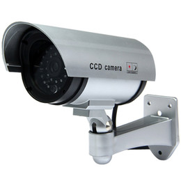 $enCountryForm.capitalKeyWord Australia - Multifunctional Dummy CCTV Security CCD IR Camera with Red LED Blinking Light for Indoor   Outdoor Surveillance