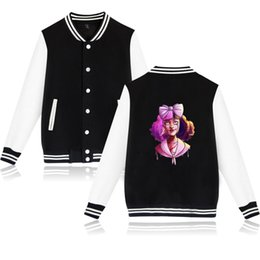 $enCountryForm.capitalKeyWord NZ - New Hip Hop Rapper CRY BABY Jacket Coat Print Men Casual Amusing Jacket Spring Punk Rock Clothing